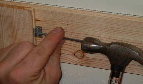 Крепеж с помощью кляймера