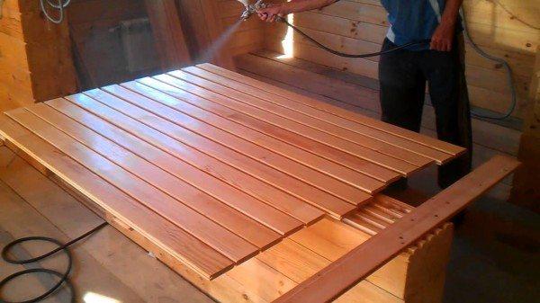 лаки для деревянной вагонки