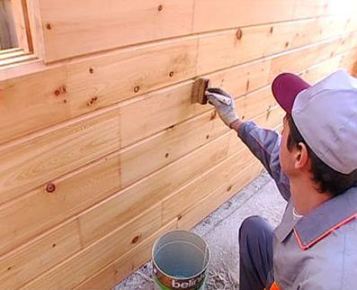 обработка деревянной вагонки