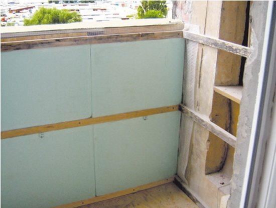 обшивка балконов вагонкой своими руками