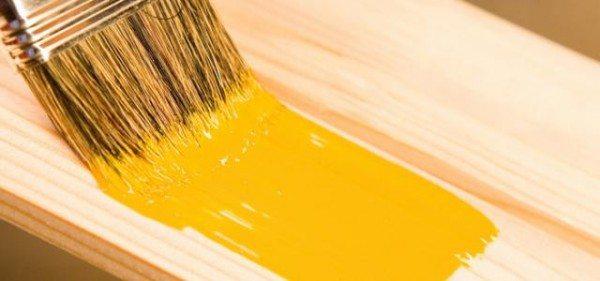 покраска деревянной вагонки
