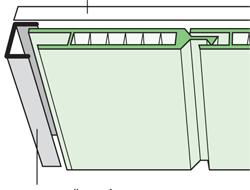 Схема монтажа пластиковых панелей